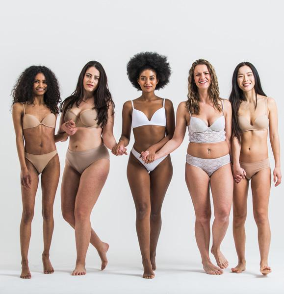 women in underwear
